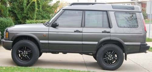 land rover discovery body lift. proper spec terrafirma land rover discovery ii 3 body lift
