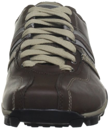 Herren Halbschuhe Brown Skechers Braun Refresh Urban Dark Tread a7ntqB
