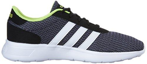 Adidas NEO Men's Lite Racer Lifestyle Runner Sneaker,Black/White,9.5 M US