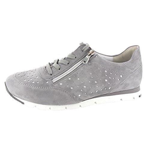 Semler Damen Rosa Sneaker Grau (Chrom-Silber)
