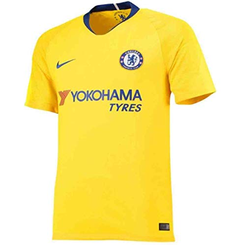 aa37e4bed25 Nike 2018-2019 Chelsea Away Football Soccer T-Shirt Jersey (Kids)