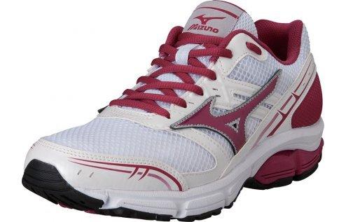 MIZUNO chaussures de course pour les femmes Wave Impetus white/red/white Différentes tailles (37) ERLwjih