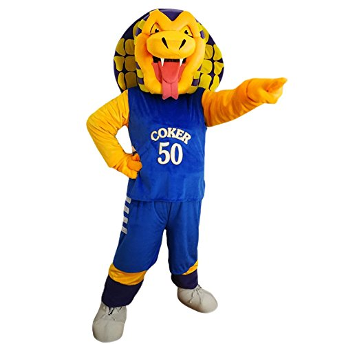 Langteng Cobra Snake Cartoon Mascot Costume Real Picture 15-20days delivery -