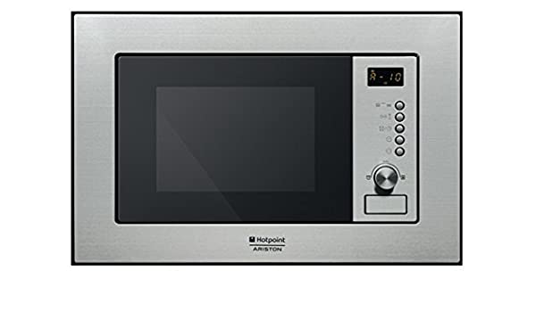 Hotpoint-Ariston MWHA 122.1 X - Microondas (59 cm, 34 cm, 38 cm) Acero inoxidable: Amazon.es: Hogar