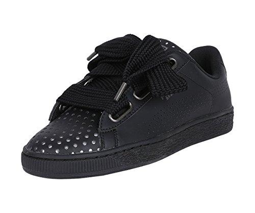 Heart Sneakers 03 Puma Lux Wn's 5 Nero 40 Nero Basket 366728 Ath Bax4qEw