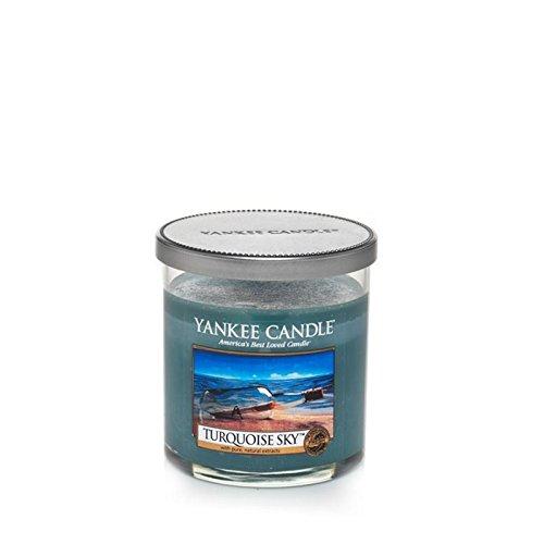 Yankee Candles Piccola candela della colonna - Turchese Sky