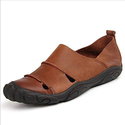 Sandal pantofole Scarpe 0 Marrone Uomo CM da Outdoor Leisure spiaggia 27 Skid 24 5 Shoes Wagsiyi Traspirante Sports d5Uwq7156