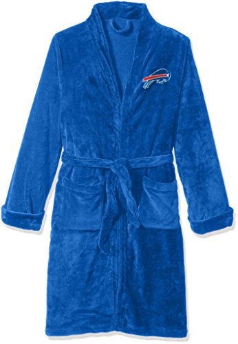 Northwest Nfl Buffalo - The Northwest Company Officially Licensed NFL Buffalo Bills Men's Silk Touch Lounge Robe, Large/X-Large