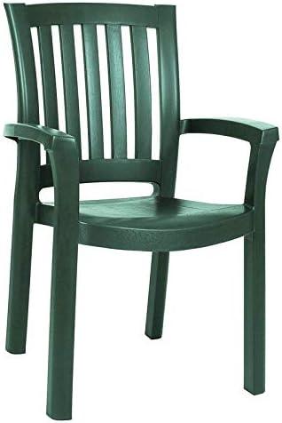 Compamia Sunshine Resin Patio Dining Arm Chair