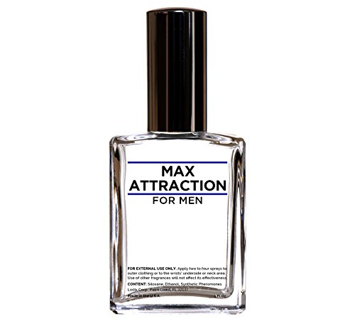 Pheromone Fluid - Max Attraction for Men - Pheromones to Attract Women - Unscented