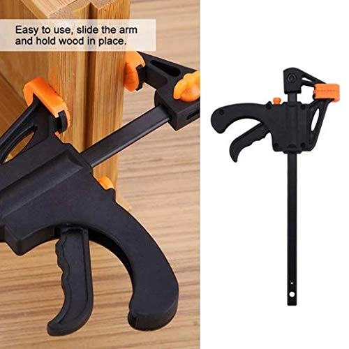 2 x 910mm Wood Working Bar F Clamp Clamps Grip Ratchet Quick Release Fixed Tools & Home Improvement