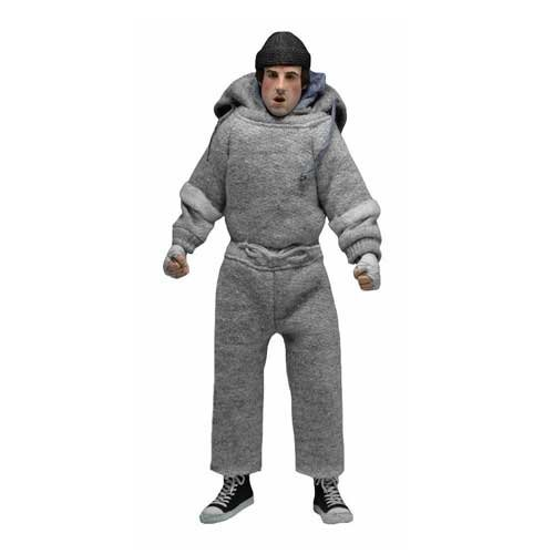"""NECA Rocky - Rocky (Sweatsuit) 8"""" Clothed Action Figure"""