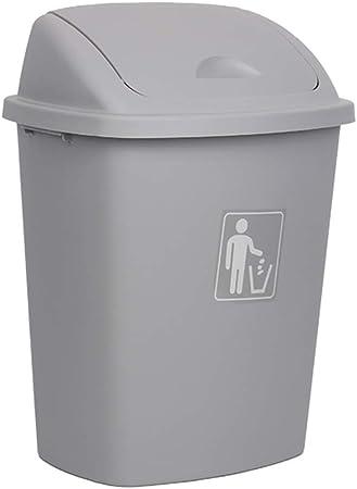 GBY Cubo de Basura Caja de Columpios casa jardín Cocina Basura Reciclaje plástico Basura contenedor Basura (Color : D, Size : 65L): Amazon.es: Hogar