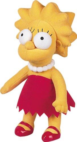 United Labels 1000038 Los Simpson - Peluche de Lisa (31 cm)https://amzn.to/2VPVtGd