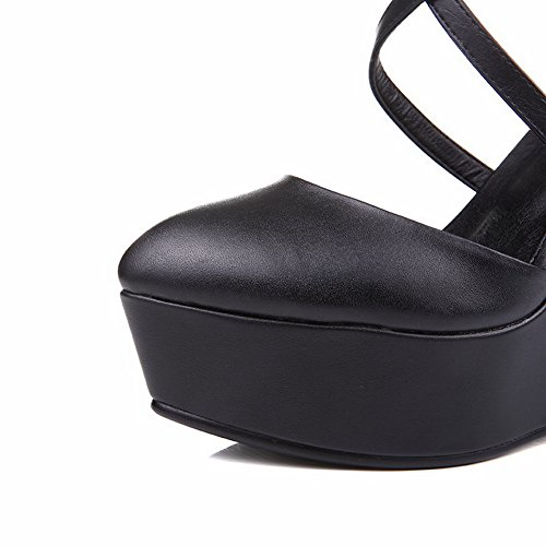 5 Noir 1TO9 Femme Plateforme EU Noir 36 agUxXUw