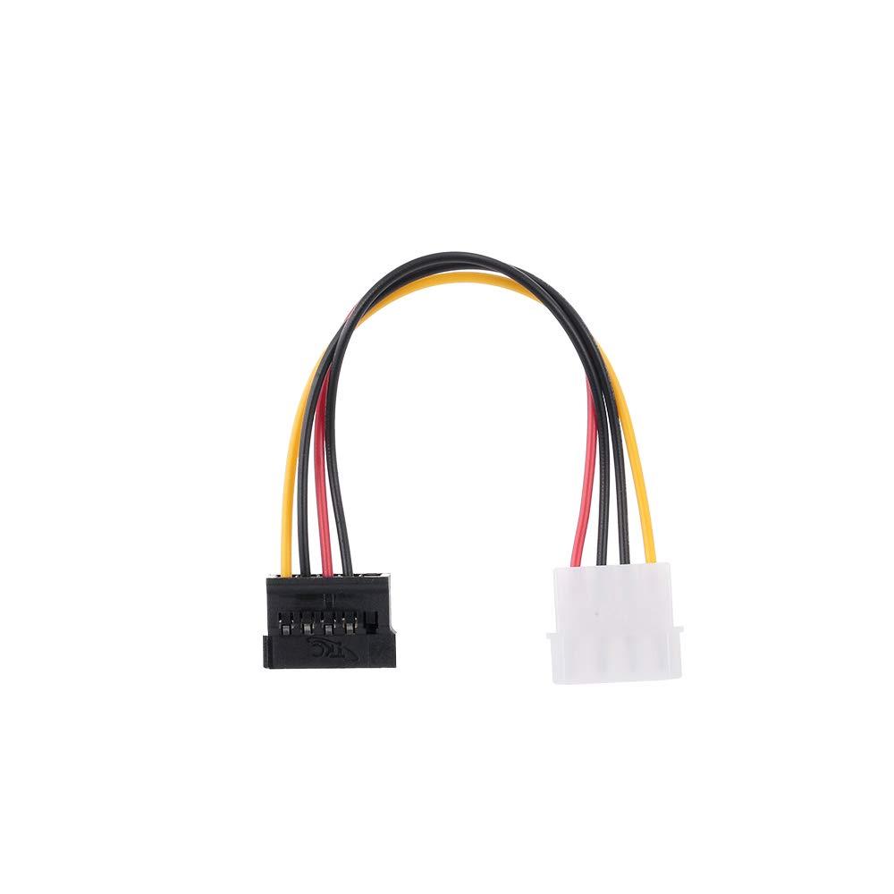 Godyluck SATA Power Cable 4PIN SATA HDD Hard Drive Power Cord