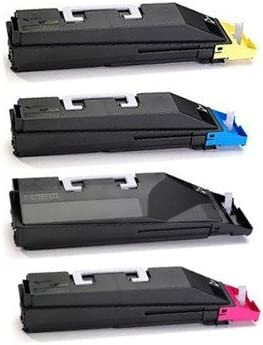 Cyan Magenta Black TK869 Premium Compatible Toner Value Pack Yellow