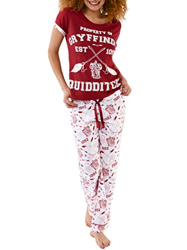 Harry Potter Womens Quidditch Pajamas Small
