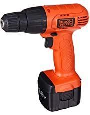 Black & Decker CD961K-XD 9.6V Cordless Drill Driver with ACC