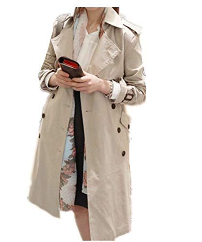 Mujer Outwear Otoño Solapa Windbreaker Outdoor Basic Betrothales A7aYYF