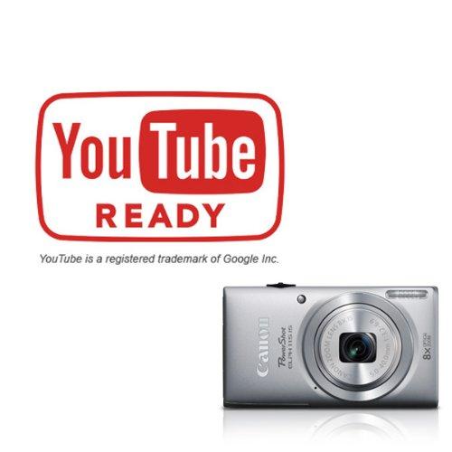 Canon PowerShot ELPH 115 16MP Digital Camera (Silver) (OLD MODEL)
