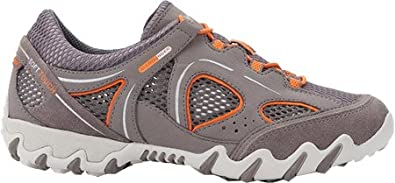 fdcad7742e Allrounder by Mephisto Women's Natal Walking Shoe,Grigio Suede/Mesh,US 6.5 M