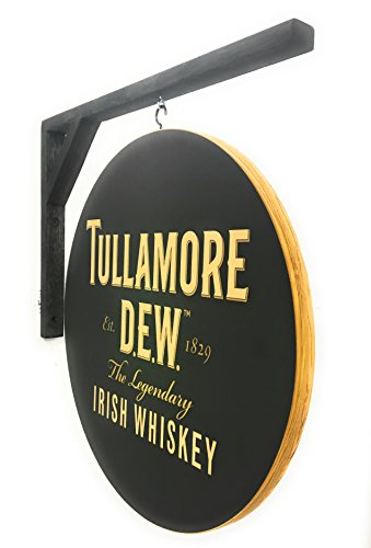 Tullamore Dew Irish Whiskey Sign - Double Sided Badge Sign - 14