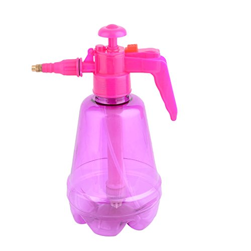 uxcell Plastic Outdoor Succulents Flower Watering Tool Trigger Spray Bottle 1.5L Fuchsia by uxcell