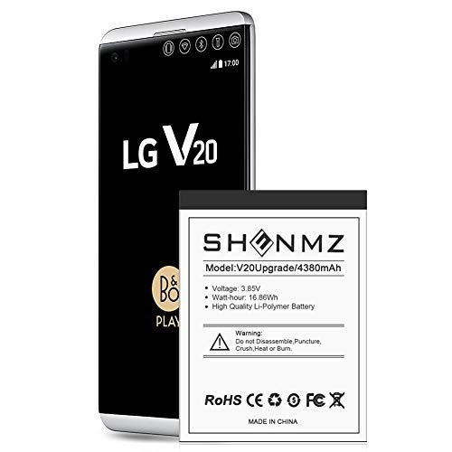LG V20 Battery,[Upgraded] 438mAh BL-44E1F Li-Polymer Replacement Battery for LG V20 BL-44E1F H910 H918 LS997 US996 VS995/V20 BL-44E1F [24 Month Warranty]