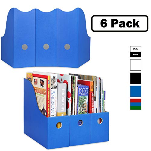Colored Magazine File Holder
