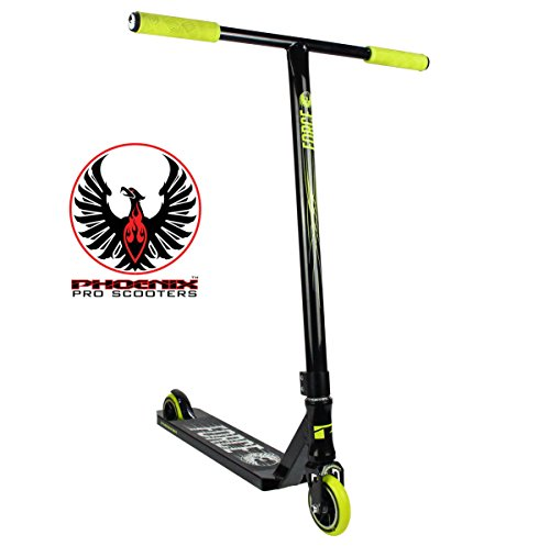 Phoenix Force Pro Scooter (Black/Neon Yellow) (Grit Scooter Pro)