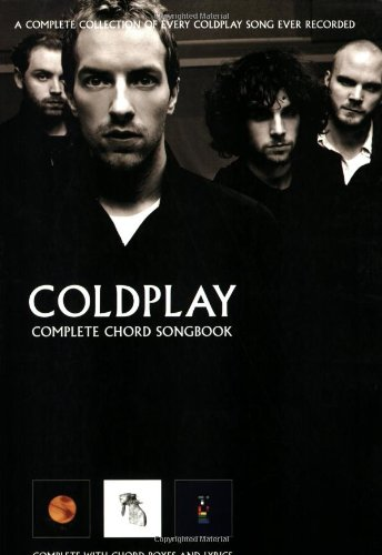 Amazon Coldplay Complete Chord Songbook 9781846092572