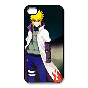 iphone4 4s Black phone case Naruto Minato namikaze Best gift for boys NOF3727591