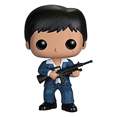 Funko POP! Movies: Scarface Tony Montana Action Figure: Funko Pop! Movies:: Toys & Games