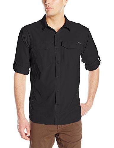Columbia Men's Silver Ridge Lite Long Sleeve Shirt, X-Large, Black