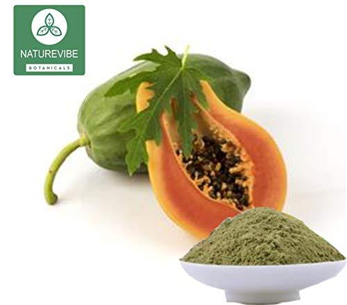 Papaya polvo de hoja: Amazon.com: Grocery & Gourmet Food