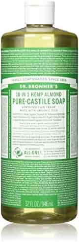 Dr. Bronner's Pure-Castile Liquid Soap - Almond 32oz.