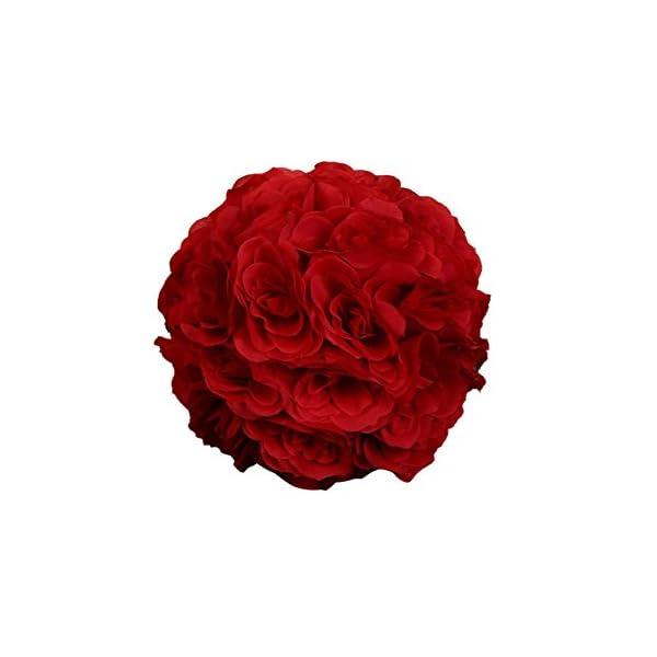 dds5391-7inch-Silk-Flower-Kissing-Ball-Artificial-Rose-Wedding-Party-Pomander-Decoration