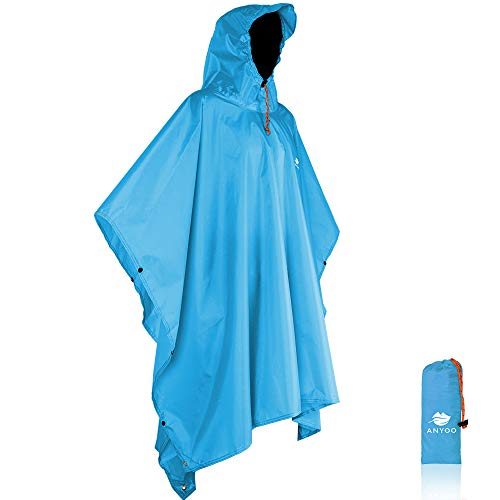 Anyoo Waterproof Rain Poncho