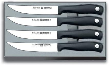 Amazon.com: Wusthof Silverpoint II 4-Piece Steak Knife Set ...