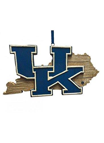 Kentucky Wildcats Ornaments - KENTUCKY WILDCATS STATE MAP ORNAMENT 4