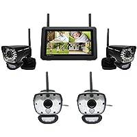 Uniden UDR780HD - 4 Camera Waterproof Wireless Security Camera System - UDR780HD + ULC58 (2)