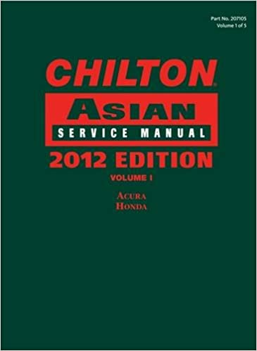 Chilton asian service manual 2012 edition volume 1 chiltons chilton asian service manual 2012 edition volume 1 chiltons asian service manual 1st edition fandeluxe Images