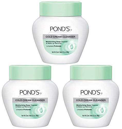 Pond's Cold Cream Cleanser 3.5 oz (Pack of 3) (Best Foundation For 50 Year Old Skin)