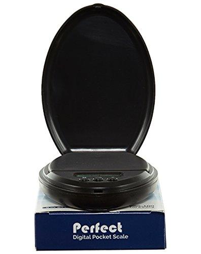 Perfecte Digitale Pocketschaal Niet Van Toepassing Zwart