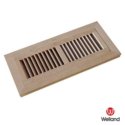 WELLAND Maple Hardwood Register Unfinished product image