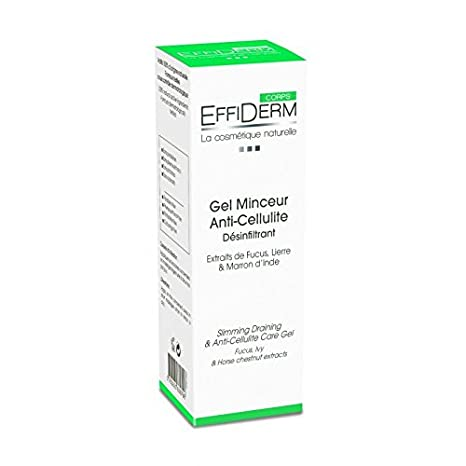 Effiderm Gel Minceur Anti-Cellulite: Amazon.es: Salud y ...