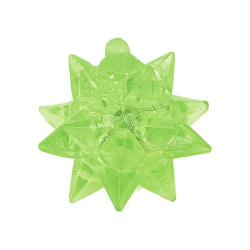 Transparent Flashing Star Ball - 6 Pack Flashing Star Ball