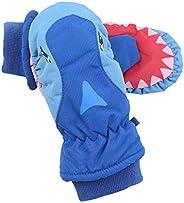 Ski Gloves Kids Winter Warm Waterproof Windproof Thermal Snowboard Anti Slip Cold Weather Snow Skiing Snowboar