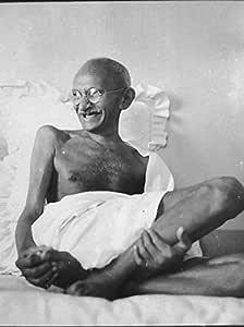 Mahatma Gandhi relajante 8x 10Foto Reimpresión